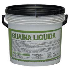GUAINA LIQUIDA ELASTOMERO BITUMINOSA ALL ACQUA KG. 20 NERA IMPERMEABILIZZANTE