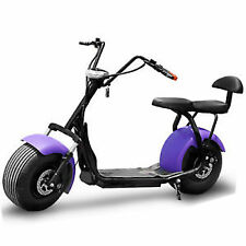 Bluetooth Electric Fat Tire Scooter -  1000W