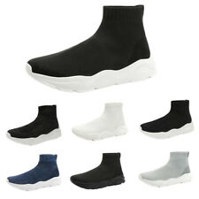 Mens Fashion Sock Sneakers High Top Sneakers Casual Shoes Walking Shoes