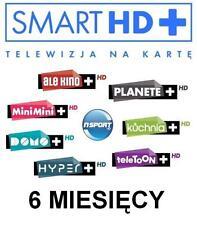 TNK Smart HD+ Multi+ 6M Doładowanie Express Telewizja na karte Aufladung