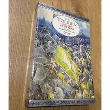 J R R Tolkien RETURN OF THE KING paperback 1996 Alan Lee illustrated Harpercoll