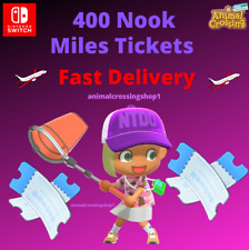 400 Nook Miles Tickets! Animal Crossing New Horizons CHEAPEST - FASTEST DELIVERY