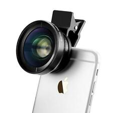 Pro 0.45x Wide Angle HD photo Lens w/ Macro12.5x Macro Lens for Phone camera