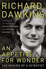An Appetite for Wonder: The Making of a Scientist, Dawkins, Richard, Good Condit