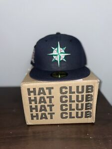 Hat Club Exclusive New Era Seattle Mariners 40th Anniversary Hat Size  7 3/8
