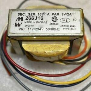 NEW Hammond Manufacturing 266J16 Power Transformer