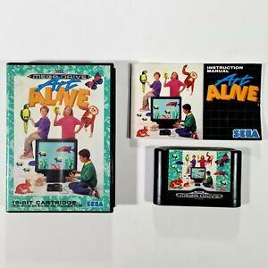 ©1991 SEGA Mega Drive ART ALIVE dt PAL Malprogramm/Kunst/Animation/Grafitti