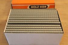 Holz-Her 5.000 Druckluft Tacker Klammern Heftklammern 25 mm 5 M 3412/25 verzinkt