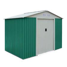 Habit Box Casetta in lamiera da giardino zincata 191x111xh190cm CLASSIC S