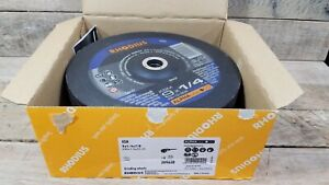 Rhodius KSM (209630) T27 Grinding Wheel For Steel - 9 x 1/4 x 7/8 - Box of 10