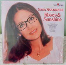 Nana Mouskouri Roses & Sunshine World Pop Music SEALED CL3-3000 Canadian Press