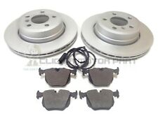 BMW X3 E83 2004-2011 REAR 2 BRAKE DISCS AND PADS SET & WEAR SENSOR