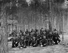 Union Army 114th PA Infantry Zouaves - Petersburg, VA - 8x10 US Civil War Photo