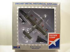 DARON WWII B-24J LIBERATOR WITCHCERAFT 1:163 SCALE DIECAST DISPLAY MODEL