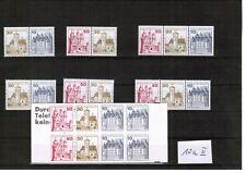 Berlin Markenheftchen 10a II mit entsprechenden Zusammendrucken postfrisch