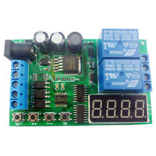 DC/AC Motor Reversible controller Module Timing Delay Cycle Limit Relay