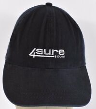 Navy Blue 4Sure Online Tech Store Embroidered baseball hat cap adjustable Strap
