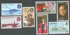 Great Britain -Liberation-Jersey & Guernsey 2 sets mnh - Military