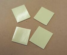 4 SHEETS - MIRROR MOUNTING TAPE SQUARES - 100 MM X 100 MM