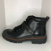 Coach Boots Cedar Hiker Black Leather G1553 Mens Size 12