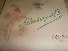 catalogue LUXE de mode pour femme 1913 ( ref 44 )