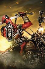 Deadpool Masacre #1 Francisco Herrera Regular Cover Comic Book English Marvel NM