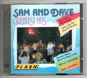 Sam & Dave Greatest Hits CD  Good Condition