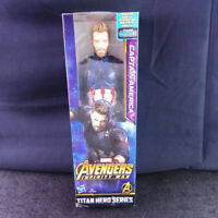 Avengers Infinity War Action Figure Captain America Power FX Titan Hero Marvel