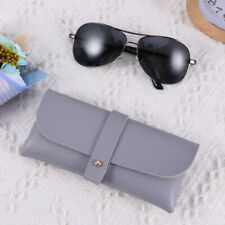 1Pc Portable Soft Leather Eyeglasses Case Handmade Box for Sunglasses Glasses