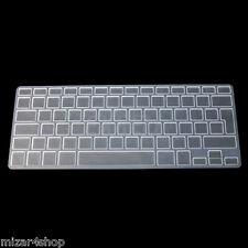 Copritastiera protettiva silicone MacBook EU Air/Pro/Retina 13-15-17 TRASPARENTE