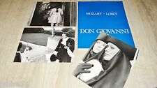 DON GIOVANNI : mozart ! joseph losey dossier presse cinema + photos presse  1978