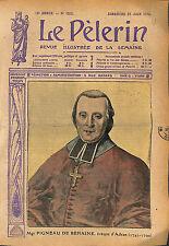 Portrait  de Mgr Pierre Pigneau de Behaine évêque in partibus  1913 ILLUSTRATION