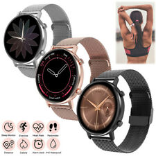 Women Men Smart Watch Fitness Tracker Music-Control Pedometer for iPhone Android