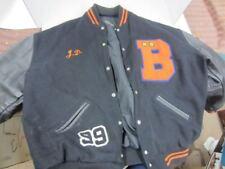 1999 BENSON Tech Life Soccer Varsity Letterman Jacket Portland OR XXL J.D. Boyd