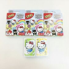 2017 Rare NEW Sanrio Hello Kitty and Friends UNO playing cards!