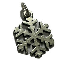 RETIRED James Avery Sterling Silver 925 Snowflake Pendant Or Charm.  Ap606