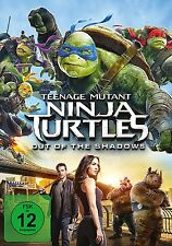 DVD * TEENAGE MUTANT NINJA TURTLES - OUT OF THE SHADOWS | MEGAN FOX # NEU OVP +