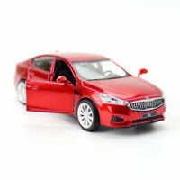 1:43 Scale Kia K7 Sedan Model Car Diecast Gift Toy Vehicle Pull Back Red Kids
