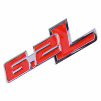 Rot 6.2L Emblem Aufkleber Sticker Badge für Ford F-150 Raptor Dodge Challenger