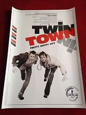 Twin Town Kinoplakat Poster A1, Rhys Ifans, Pretty Shitty City