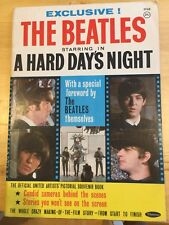 The Beatles A hard days Night Whitman Book