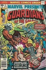 MARVEL PRESENTS #9 VF+ 8.5 FEA: GUARDIANS OF GALAXY! ORIGIN OF STARHAWK!
