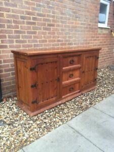 Solid Wood Sideboard Mexican Pine