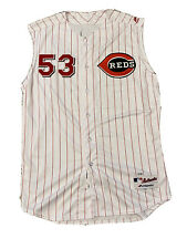 MLB Authenticated - Wandy Peralta 1999 Throwback Jersey Issued By Reds