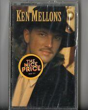 "Ken Mellons(Album) ""Jukebox Junkie"" (Cassette 1994 Epic Records)  New-Sealed!"