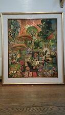 "Robert Swedroe (b. 1934) fantastic original work ""Mushroom Forest"""