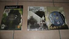 Jeu PS2 - EDITION COLLECTOR - SHADOW OF COLOSSUS - complet avec notice - BE
