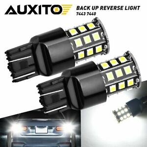 AUXITO 7443 7440 LED Reverse Backup Lights Bulb for Toyota Prius 2004-2015 6000K