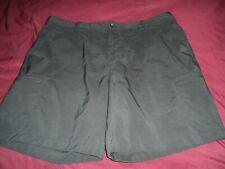 "Chaps Golf 78 Men's Shorts ~ Black ~ Size 42 ~ Polyester blend ~ Inseam 9"""