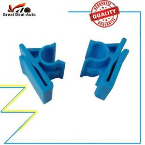 Blue Lower Glove Box Clips Kit for Holden Commodore VZ VY WK WL Modified Fix
